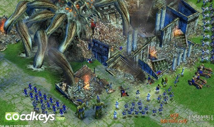 Age Of Mythology The Titans CD Key - DownloadKeeper