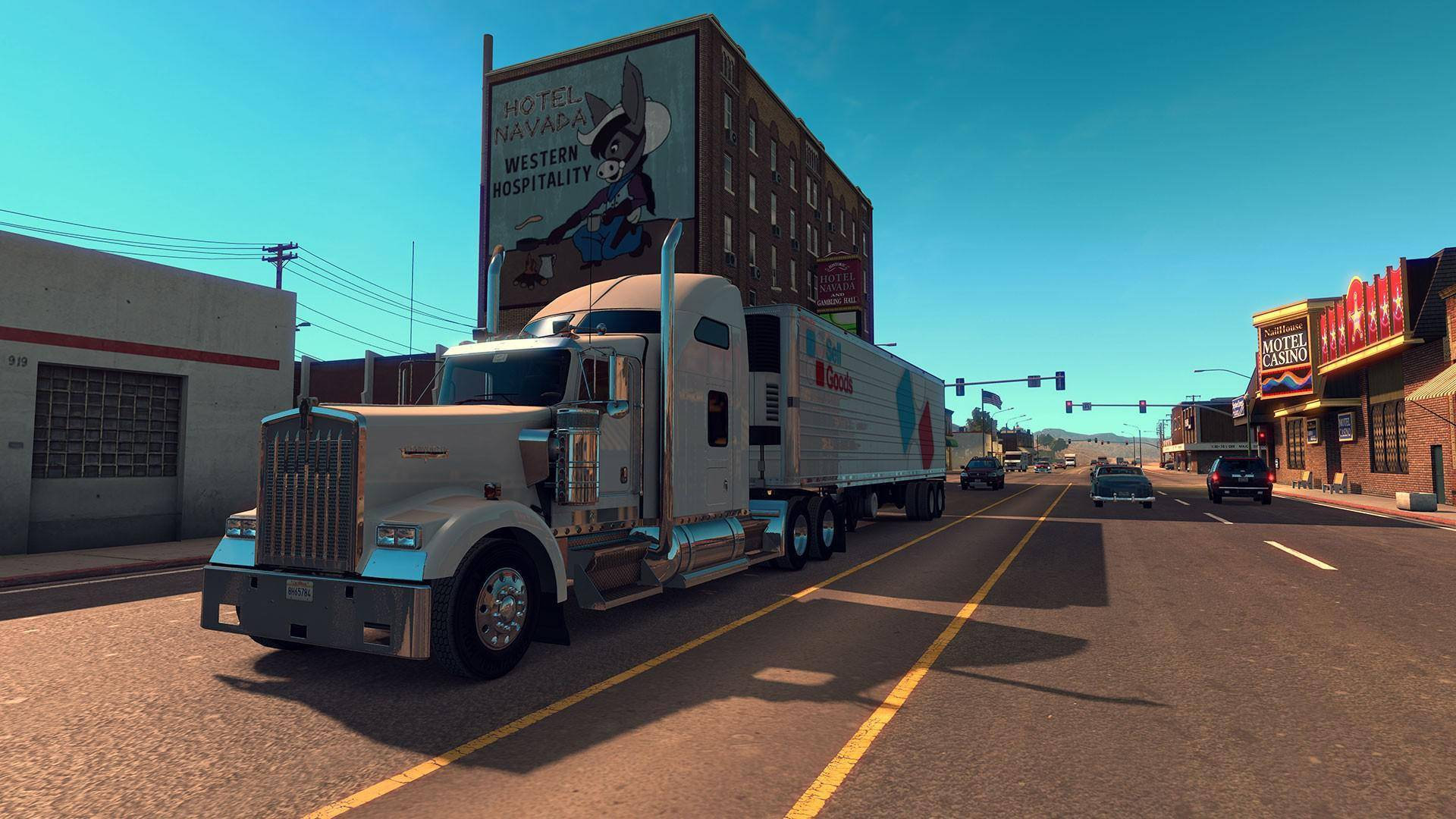 Article title about American Truck Simulator