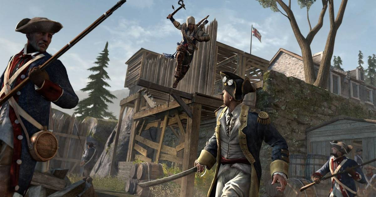 Buy Assassins Creed Iii Remastered Ps4 Compare Prices