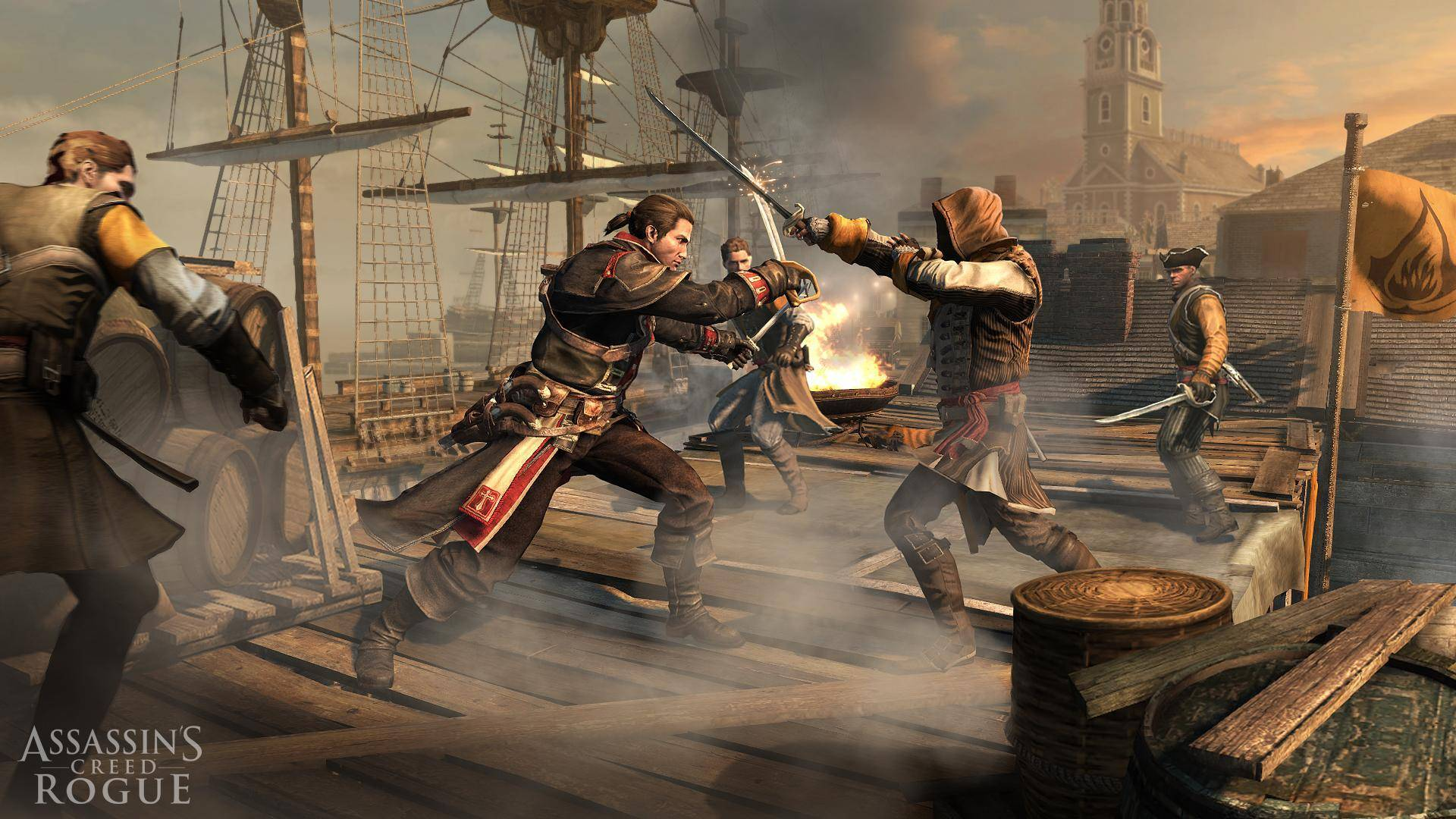 Article title about Assassins Creed Rogue