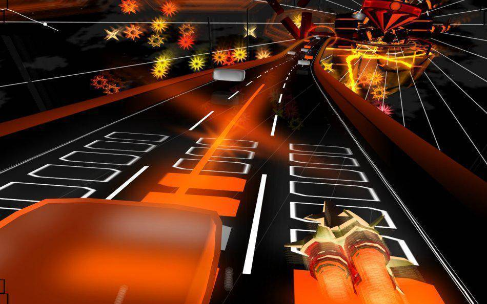 Article title about AudioSurf