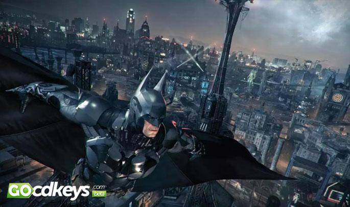 Article title about Batman Arkham Knight