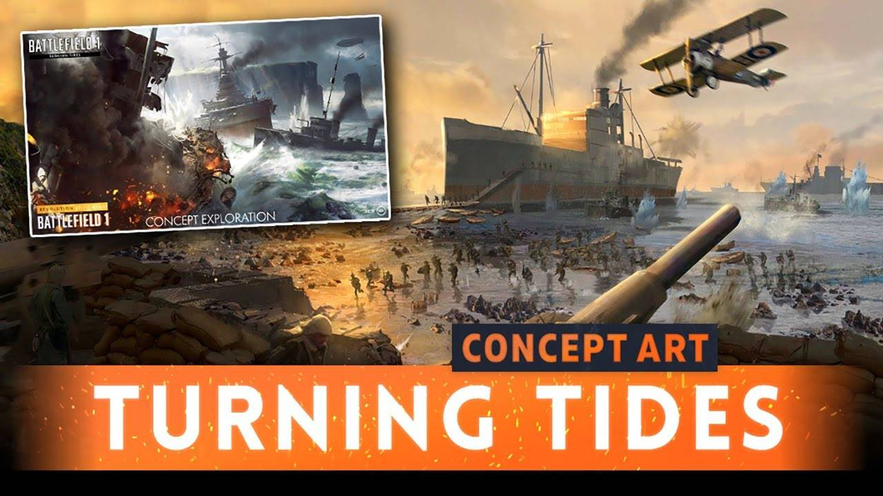 battlefield 1 cant download turning tides ps4