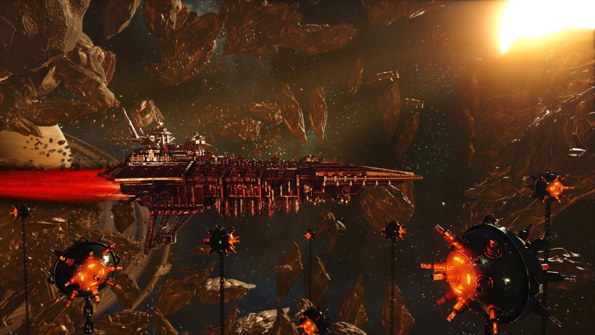 Article title about Battlefleet Gothic Armada