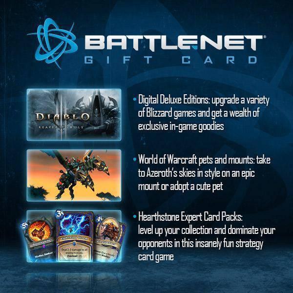 Buy Battlenet 20 GBP Gift Card (UK) cd Key pc cd key for Battlenet ...