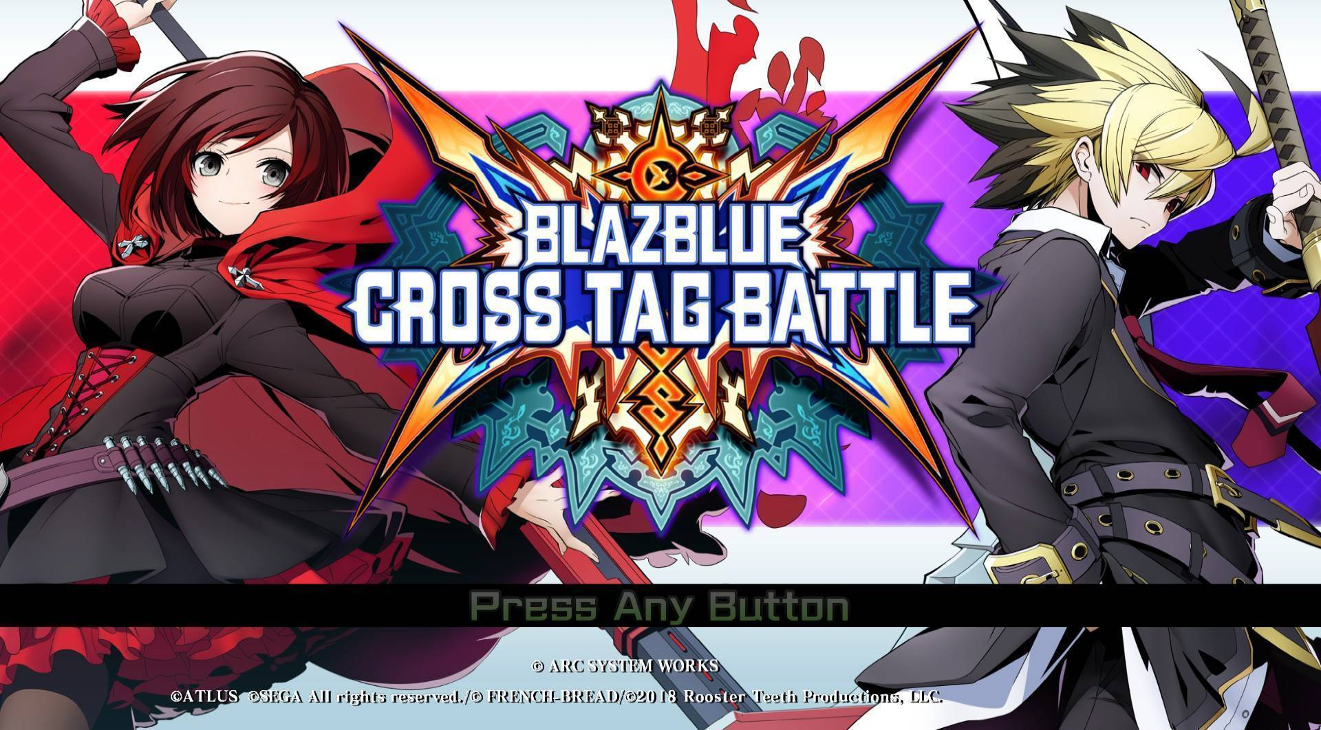 Article title about BlazBlue: Cross Tag Battle