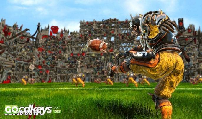 Article title about Blood Bowl 2