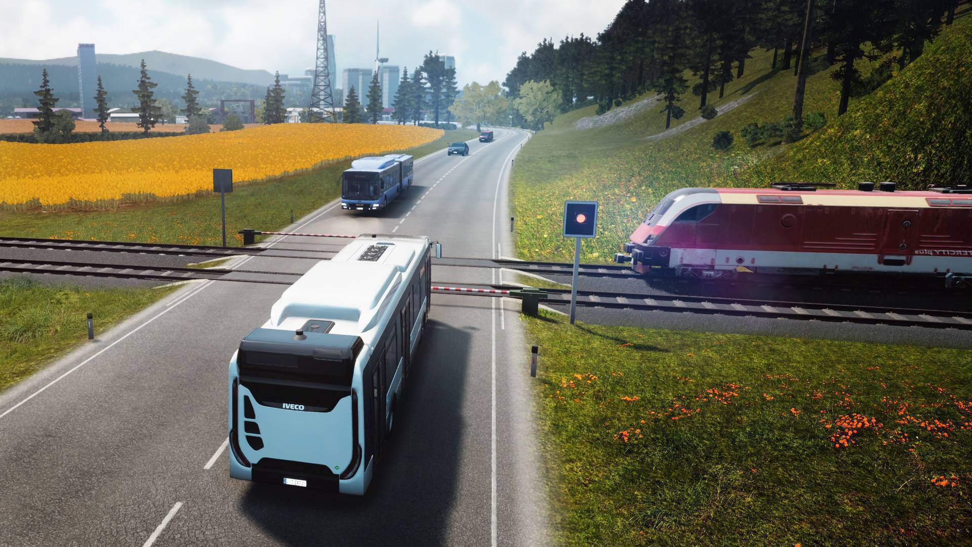 Article title about Bus Simulator 18