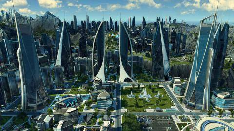Watch Anno 2205 Frontiers DLC trailer