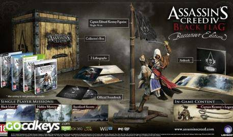 Watch Assassins Creed 4 Blag Flag Bucaneer Edition trailer