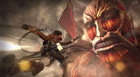 Watch Attack On Titan (AOT) Wings Of Freedom trailer
