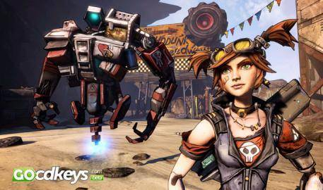 Trailer von Borderlands 2 Mechromancer Pack DLC  anschauen