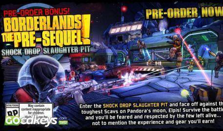 Watch Borderlands The PreSequel trailer