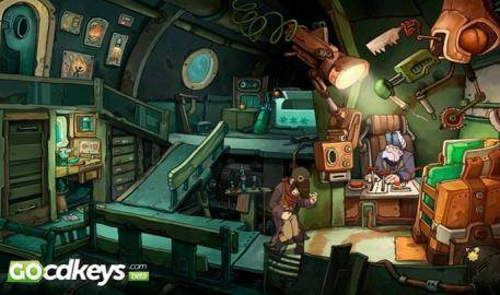 Watch Chaos on Deponia  trailer