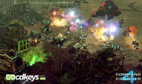 Watch Command & Conquer 4: Tiberian Twilight  trailer
