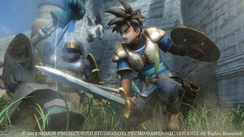 Watch Dragon Quest Heroes trailer