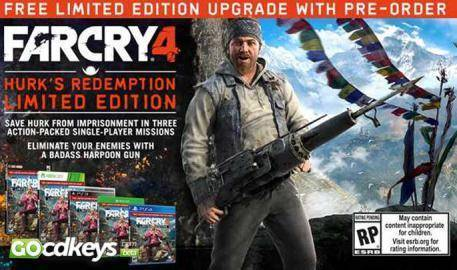 Regarder la bande-annonce de Far Cry 4 Limited Edition