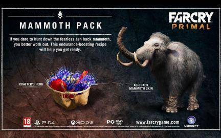 Watch Far Cry Primal Legend of the Mammoth DLC  trailer