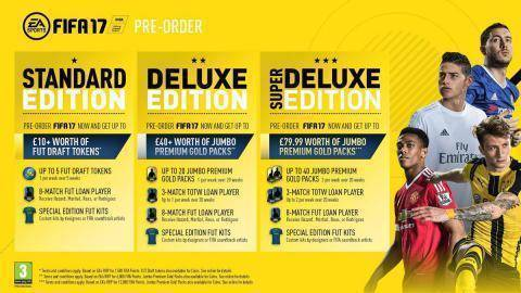 Watch FIFA 17 Deluxe Edition trailer
