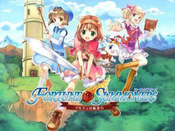 Watch Fortune Summoners  trailer