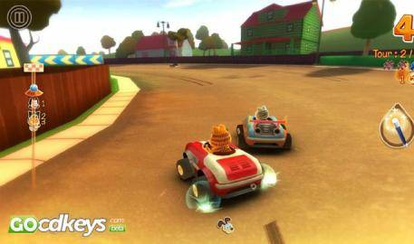 Watch Garfield Kart  trailer