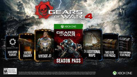 Watch Gears of War 4 Season Pass trailer