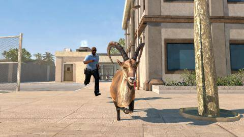 Watch Goat Simulator PAYDAY DLC  trailer