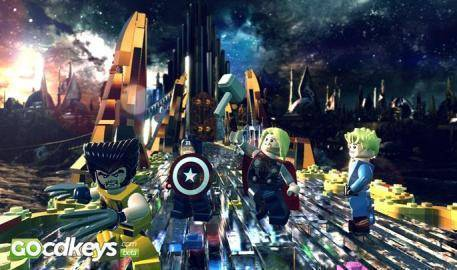 Watch Lego Marvel Super Heroes trailer