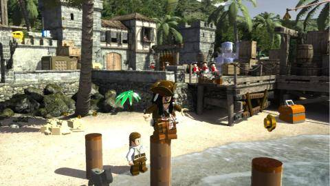 Watch LEGO Pirates of the Caribbean: The Video Game  trailer