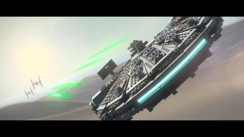 Watch LEGO Star Wars The Force Awakens  trailer