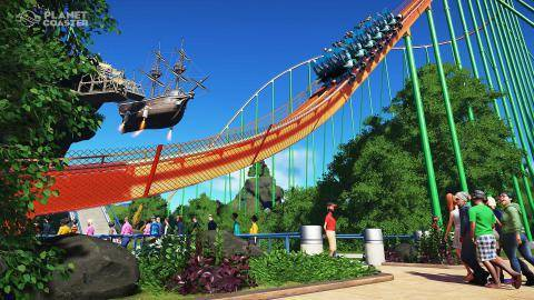 Watch Planet Coaster trailer
