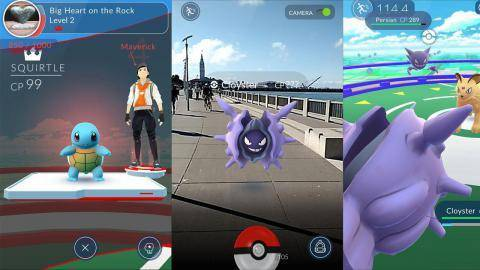 Trailer von Pokemon GO Account Level 20  anschauen