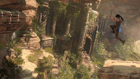 Watch Rise of the Tomb Raider 20 Year Celebration trailer