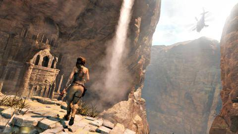 Watch Rise of the Tomb Raider trailer