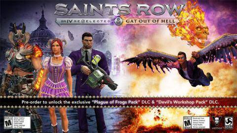 Trailer von Saints Row IV Re-elected + Gat Out of Hell anschauen