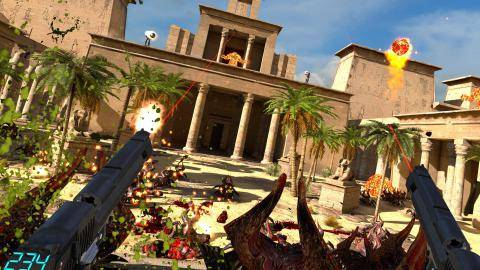 Watch Serious Sam VR The Last Hope trailer