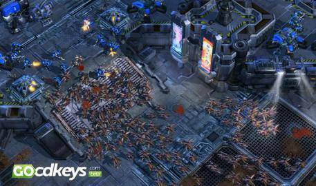 Watch Starcraft II Wings of Liberty  trailer
