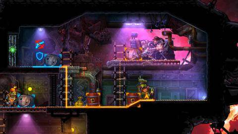 Watch SteamWorld Heist  trailer