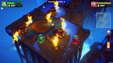 Watch Super Dungeon Bros trailer