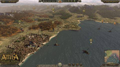 Trailer von Total War Attila The Last Roman  anschauen