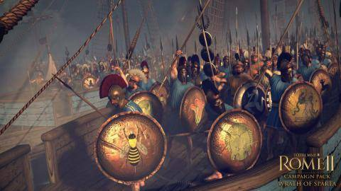 Ver el tráiler de Total War Rome 2 Wrath of Sparta DLC