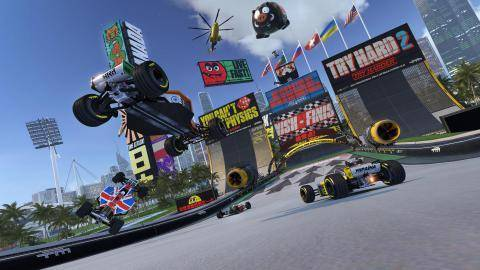 Watch Trackmania Turbo trailer