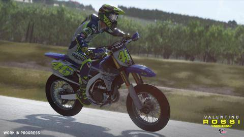 Watch Valentino Rossi The Game trailer