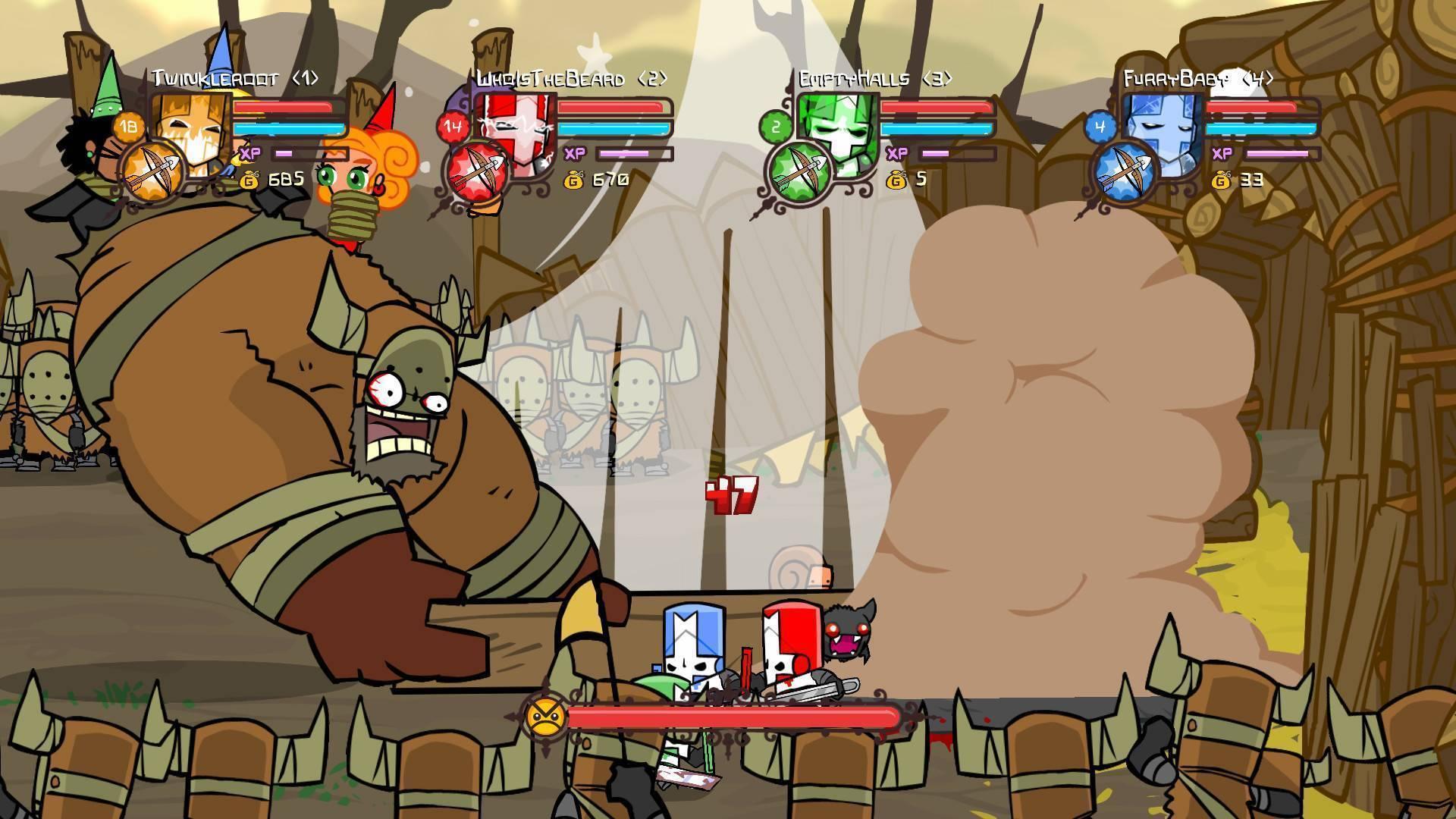 Resultado de imagen para castle crashers