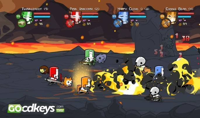 STEAM CD KEY: Use the Steam Key Code on Steam Platform to download and play Castle Crashers. You must login to your Steam Account or create one for free. You must login to your Steam Account or create one for free.