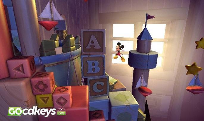Article title about Castle of Illusion Starring Mickey Mouse