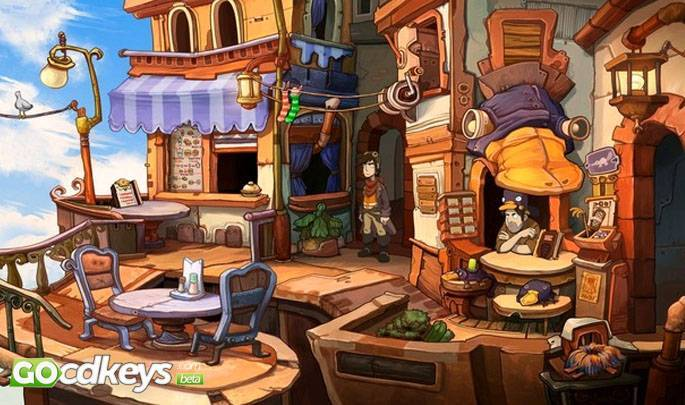 Article title about Chaos on Deponia
