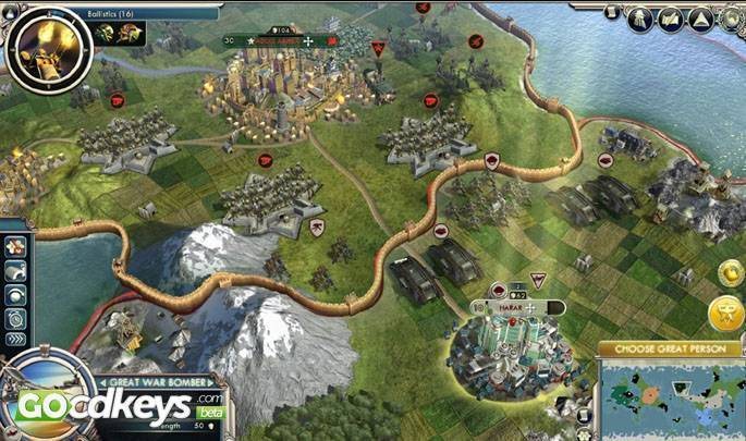 civilization v steam key