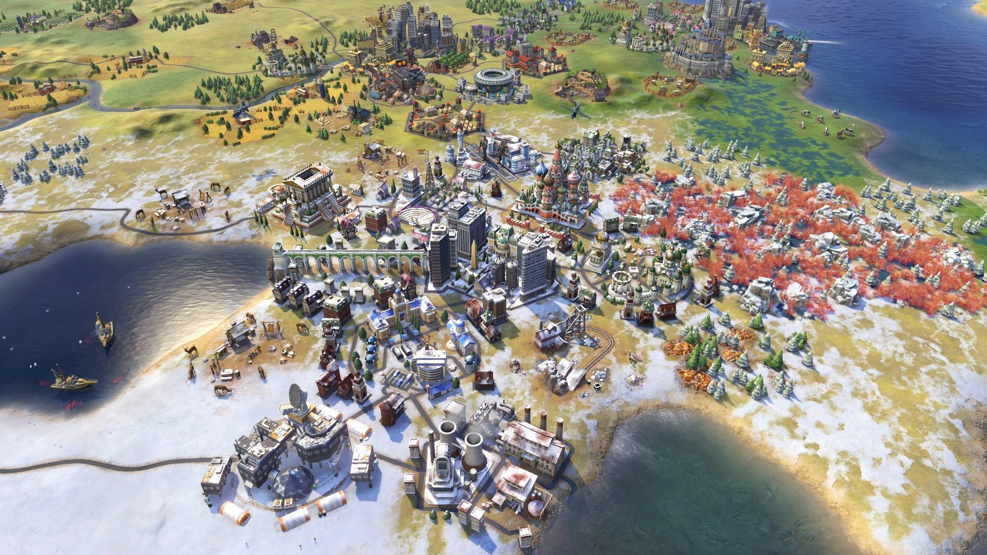 Article title about Civilization VI Rise and Fall