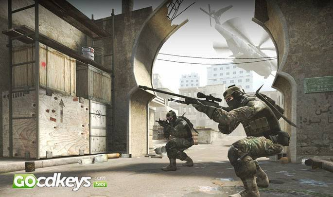 Article title about Counter Strike Global Offensive